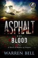 ashpalt and blood