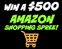 Amazon Shopping Spree Giveaway