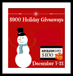 Click to Enter the $400 Holiday Giveaway