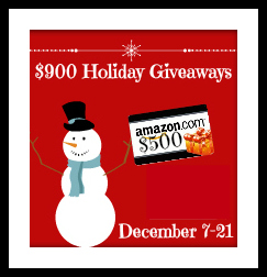 Click for the $500 Holiday Giveaway